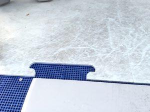 氷じゃないスケートリンク